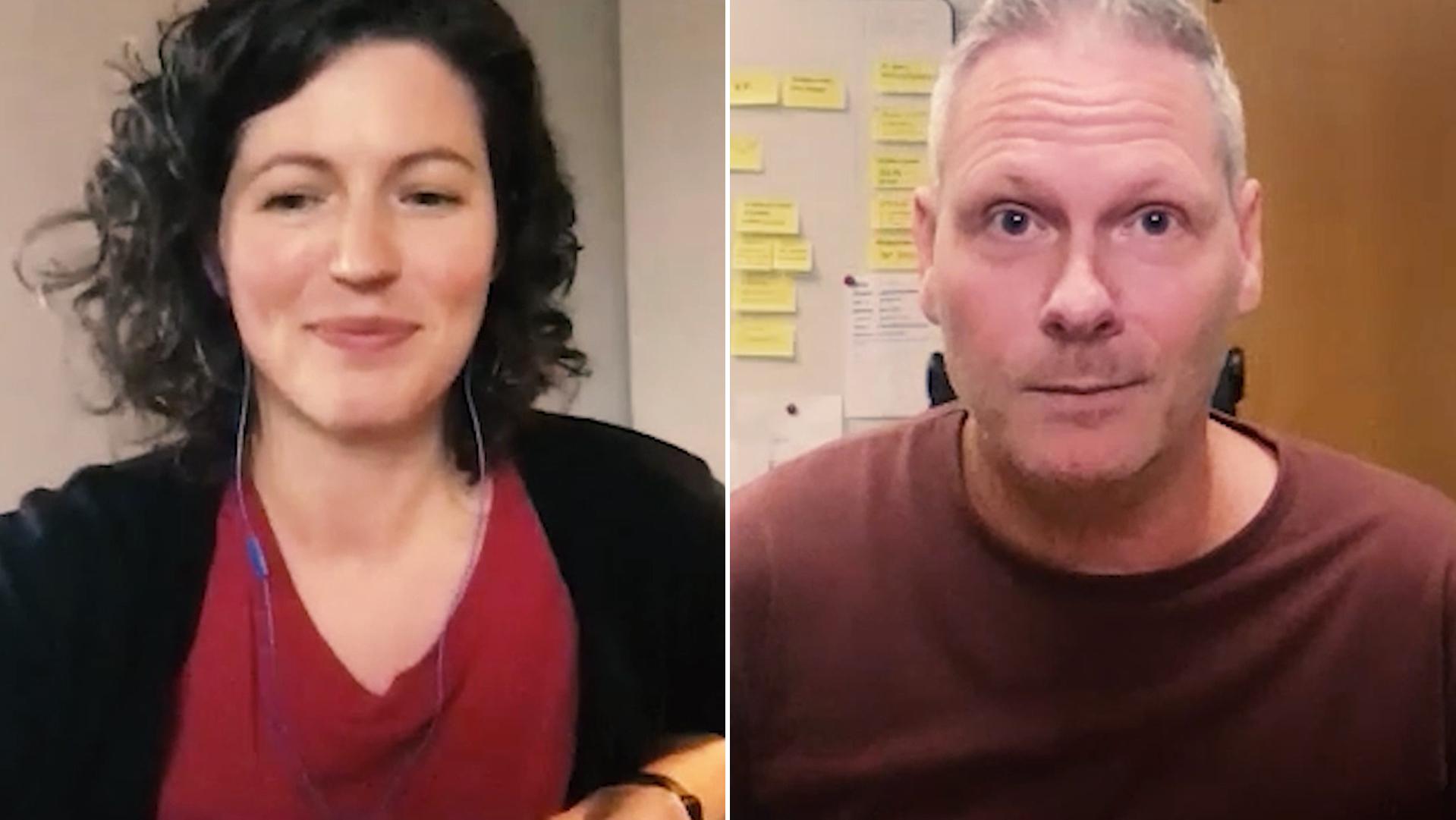 mikael hellman och jonna ekman pratar om tillgänglig video